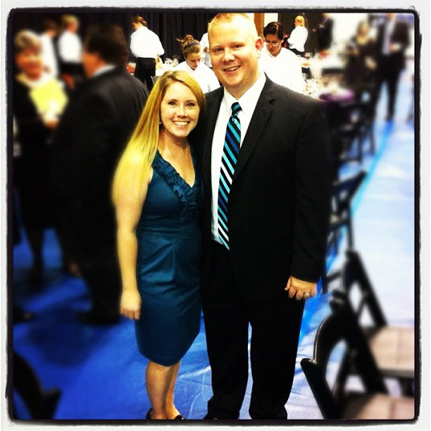 Pastor Mark and Ashley at the Maxwell Leadership Dinner