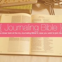 Journaling Bible | My #JournalingBible