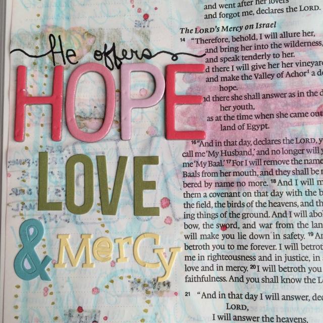 Journaling Bible | Study of Hosea Day 2 | apileofashes.com #journalingbible #jbj