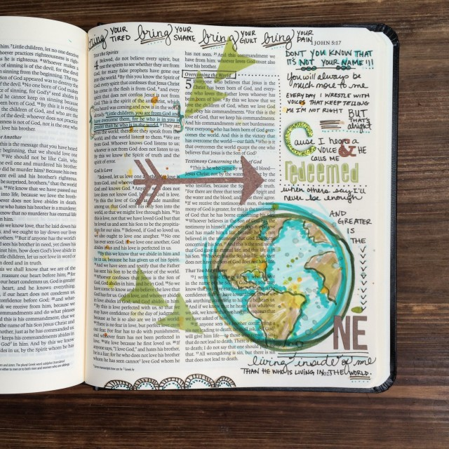 Journaling Bible |Greater | apileofashes.com