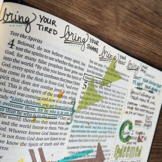 Journaling Bible |Greater | apileofashes.com