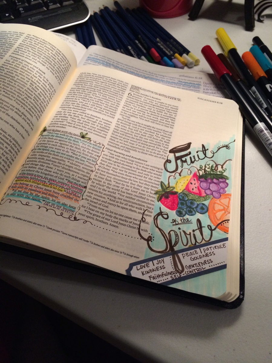 Journaling Bible | Fruit of the Spirit