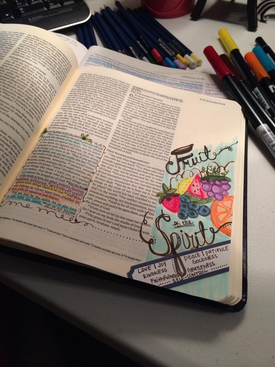 Journaling Bible | Fruit of the Spirit