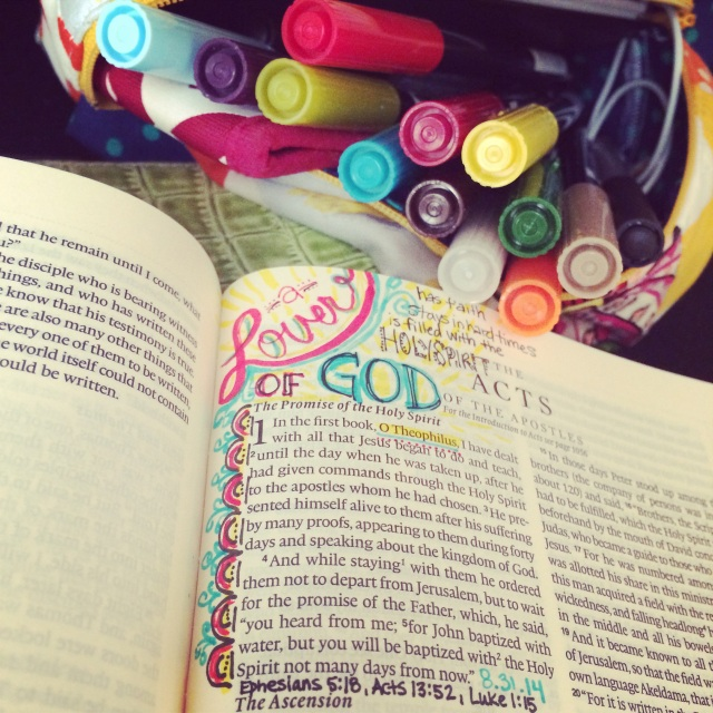 Journaling Bible | A Lover of God apileofshes.com