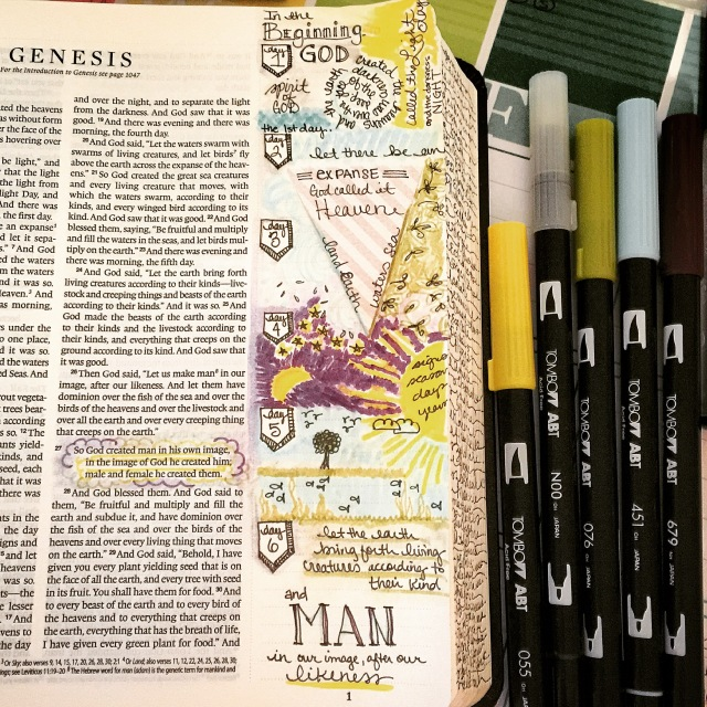 Journaling Bible | Let there Be apileofashes.com