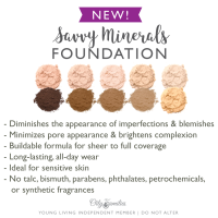 How to pick the right Savvy Minerals Foundation Color