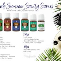 Summer Sanity | Young Living Essential Oils May 2018 Promo